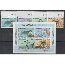 BAHAMAS 1981 UCCELLI 4...