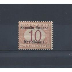 1906 SOMALIA SEGNATASSE...