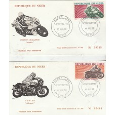 NIGER 1976  MOTOCICLISMO 4...
