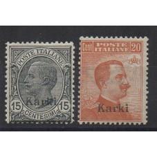 1921-22 ISOLE EGEO CARCHI...