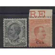 1921-22 ISOLE EGEO COO...