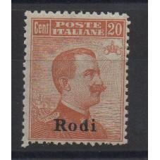 1918-22 ISOLE EGEO RODI 20...