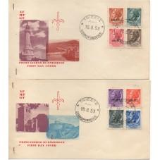 1953 FDC TRIESTE A ITALIA...
