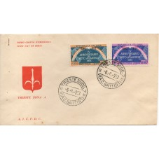 1953 FDC TRIESTE A PATTO...