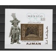 1968 AJMAN OLIMPIADI MEXICO...