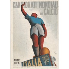 CARTOLINA 1934 CAMPIONATI...