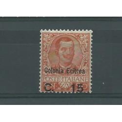 1905 ERITREA 15 C SU 20 C...