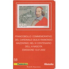 2002 TESSERA FILATELICA...