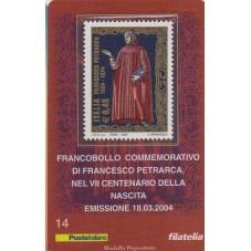 2004 TESSERA FILATELICA...