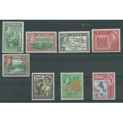 FIJI 1954 DEF ELISABETTA II...