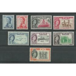 FIJI 1964-67 DEF ELISABETTA...