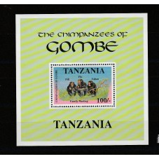 TANZANIA 1992 FAUNA...