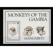 GAMBIA 1990 FAUNA ANIMALI...
