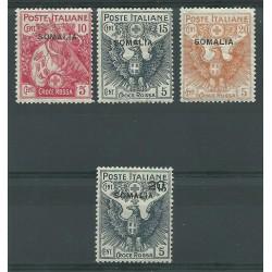 1916 SOMALIA SERIE CROCE...