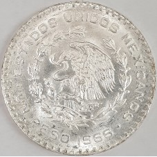 1966 MEXICO MESSICO PESO...