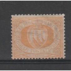 1892-94 SAN MARINO STEMMA...