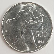 1981 SAN MARINO MONETA LIRE...