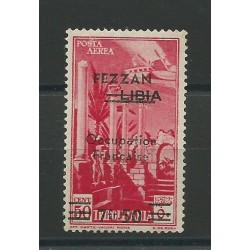 1943 FEZZAN POSTA AEREA DI...