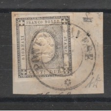 1861 SARDEGNA STAMPE 2 C....