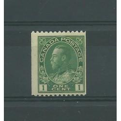 CANADA 1911-22 GEORGE V...