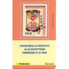 2006 TESSERA FILATELICA...
