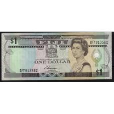 FIJI BANCONOTA 1 DOLLARO...