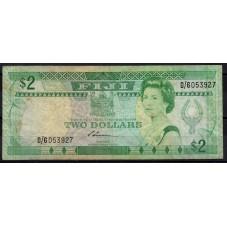 FIJI BANCONOTA 2 DOLLARI...