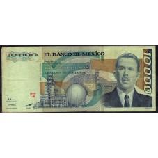 MESSICO BANCONOTA 10000...