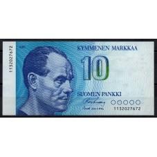 FINLANDIA 1986 BANCONOTA 10...