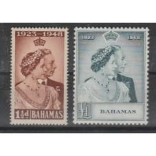 BAHAMAS 1948 GEORGE VI...