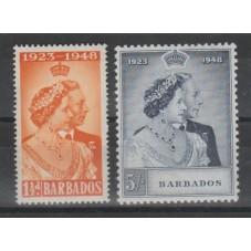 BARBADOS 1948 GEORGE VI...