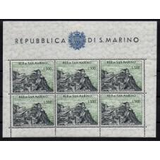 1958 SAN MARINO VEDUTA...