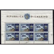 1954 SAN MARINO AEREO...