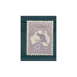 AUSTRALIA 1914 GEORGE V  9p...