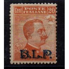 1922 - 1923 REGNO BLP 20...