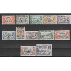 NIGERIA 1953 DEFINITIVA...