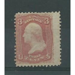 1861 - 62 STATI UNITI USA 3...