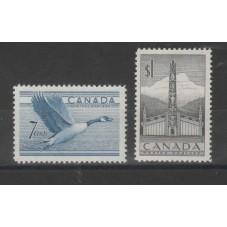 CANADA 1952 DEFINITIVA...