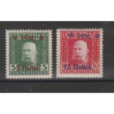 1916 AUSTRIA OCC. BOSNIA...