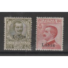1917-18 LIBIA FLOREALE E...