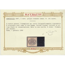STATO PONTIFICIO 1867 3 C...