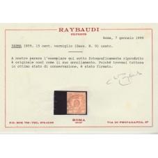 1859 PARMA - 15 CENT...
