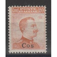 1917 ISOLE EGEO COS 20 C...