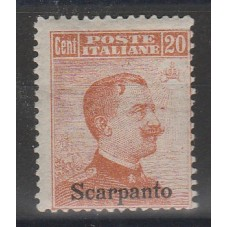 1917 ISOLE EGEO SCARPANTO...