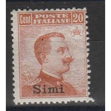 1917 ISOLE EGEO SIMI 20 C...