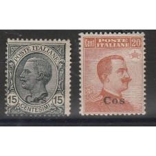 1921-22 ISOLE EGEO COS...