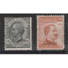 1921-22 ISOLE EGEO LIPSO...