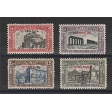 1929 CIRENAICA SERIE...