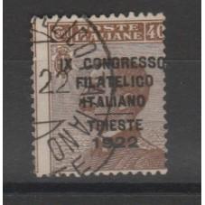 1922 REGNO 40 C BRUNO...