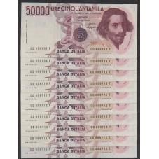 1990 / 10 BANCONOTE...